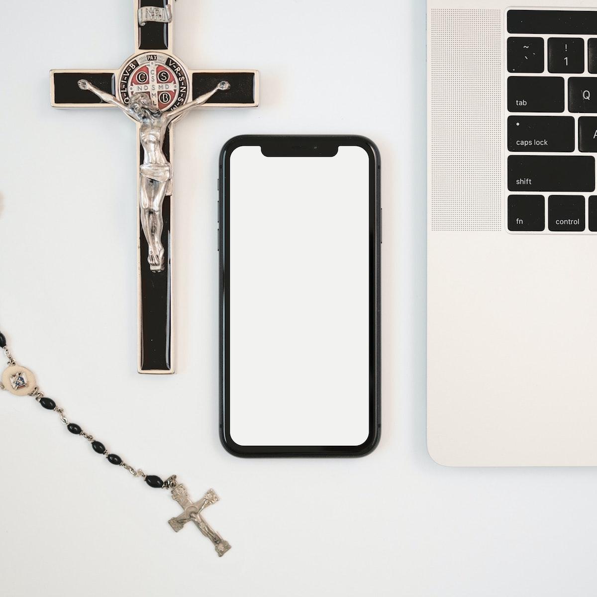Pendentif croix pour se sentir mieux