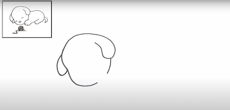 Comment dessiner un petit chien